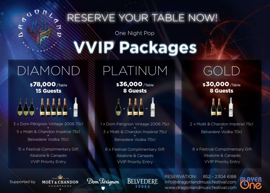 ONE NIGHT POP VVIP TICKETS ARE AVAILABLE NOW!